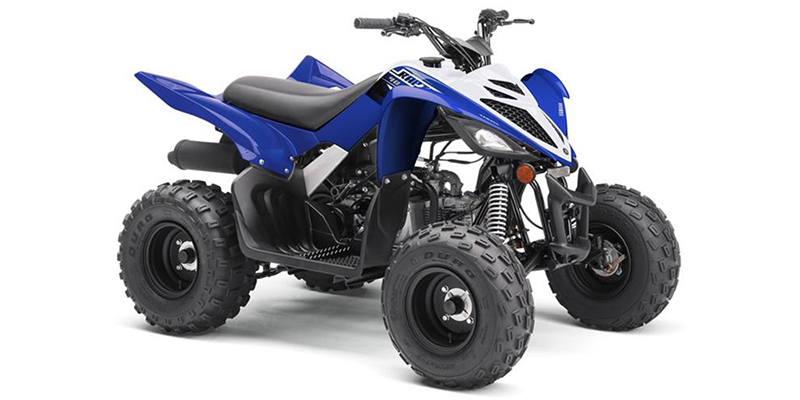 Yamaha Raptor 90 Team Yamaha Blue