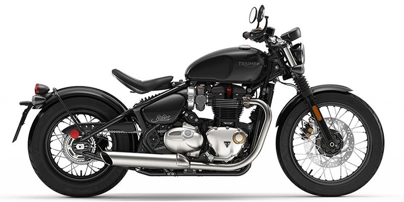 Triumph Bonneville Bobber Jet Black